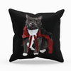 Vampire Cat Throw Pillow | Ravioli-MrsCopyCat
