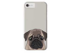 Pug iPhone Case-MrsCopyCat