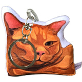 Orange Tabby Cat Shaped Pillow | Sammy-MrsCopyCat