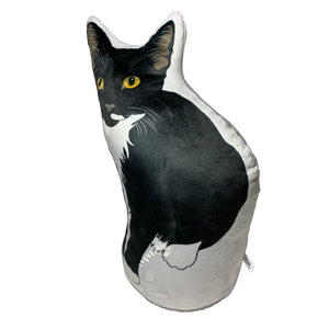 Tuxedo Cat Pillow Urn | Original URNIMAL™-MrsCopyCat