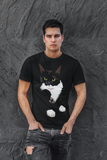 Tuxedo Cat T-Shirt for Men | Charlie-MrsCopyCat