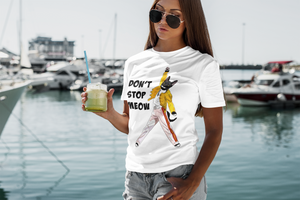 Freddie Meowcury Women's T-Shirt | Don't Stop Meow