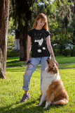 Tuxedo Cat T-Shirt for Women | Charlie-MrsCopyCat