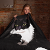 Tuxedo Cat Throw Blanket | Charlie-MrsCopyCat