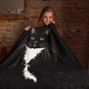 Tuxedo Cat Throw Blanket | Paloma-MrsCopyCat