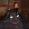 Black Cat Throw Blanket | Ginny-MrsCopyCat