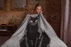 Black Cat Throw Blanket | Mercury-MrsCopyCat