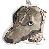 Weimaraner Dog Shaped Plush Pillow-MrsCopyCat