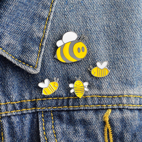 4 Piece Bee Pin Set