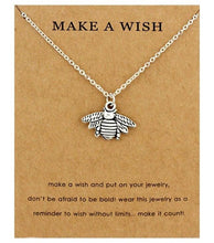 Load image into Gallery viewer, Make A Wish - Save A Bee Necklace