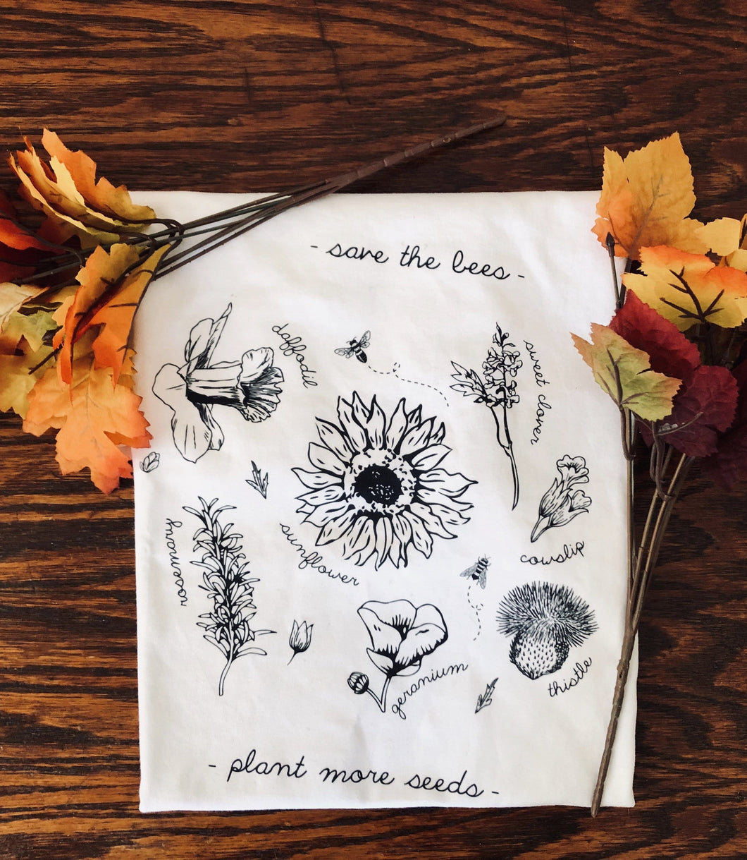 Save The Bees - Eco Tee