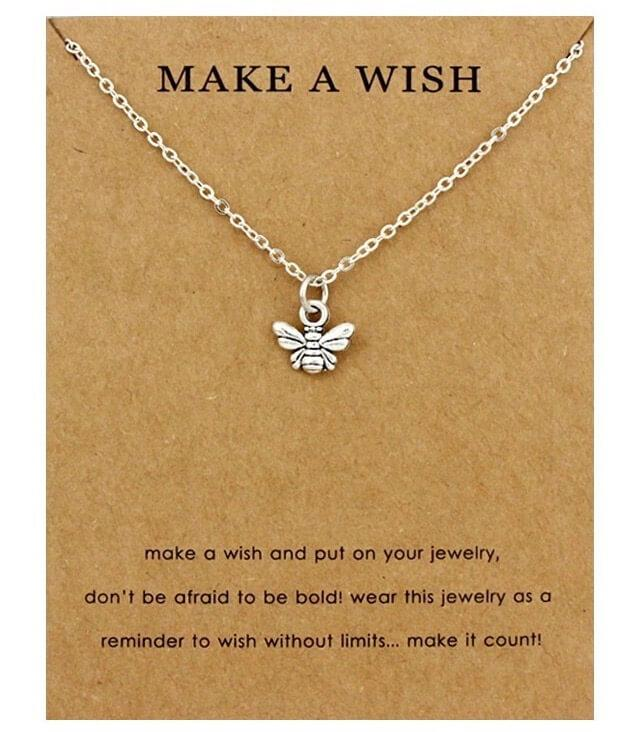 Make A Wish - Save A Bee Necklace