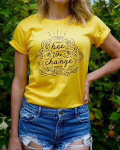 Bee The Change - Eco Tee