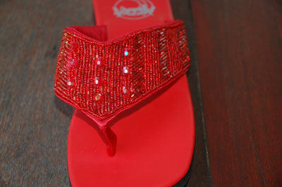 Evening Red - Size 6-7 - SALE