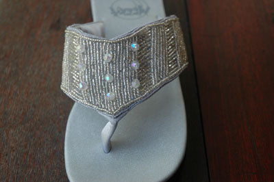 Evening Silver - Size 6 - SALE