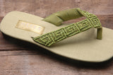 Kim Sandal - Sage - Sizes 6 -7-10 - SALE