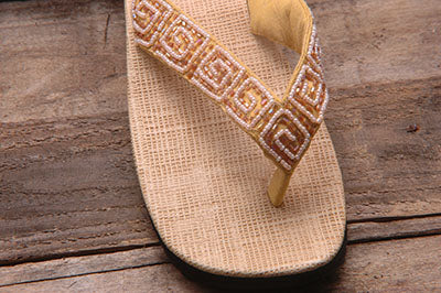 Kim Sandal - Caramel - Sizes 6 - 7 - SALE