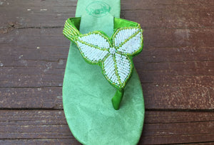 Leaf Sandal - Lime - Sizes 6-7-9-10 - SALE