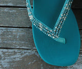 Maggie Sandal - Turquoise - Sizes 6-7-10 - SALE