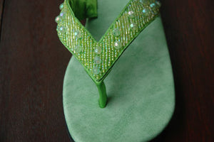 Classic Lime Sandal- Sizes 7-9-10