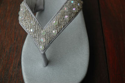 Classic Silver Sandal- Sizes 6-7-9-