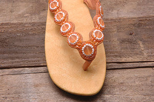 Daisy Sandal - Orange - Sizes 6 - 9 - SALE