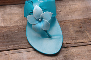 Bloom Sandal - Turquoise - Size-10 - SALE