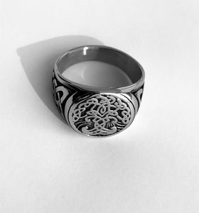 "Yggdrasil ""Tree of Life"" Ring"