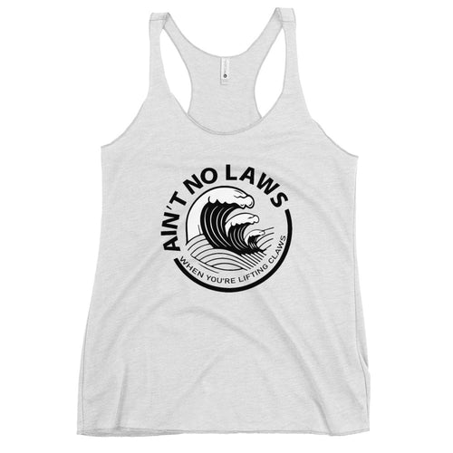 Lifting Claws Women's Racerback Tank