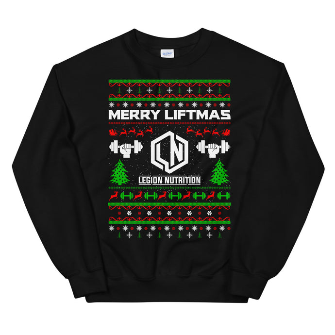 Merry Liftmas Ugly 2.0 Sweatshirt