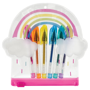 Rainbow Mini Color Gel Pen Set