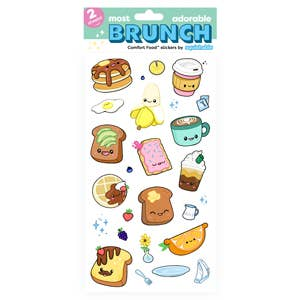 Squishables Brunch Stickers