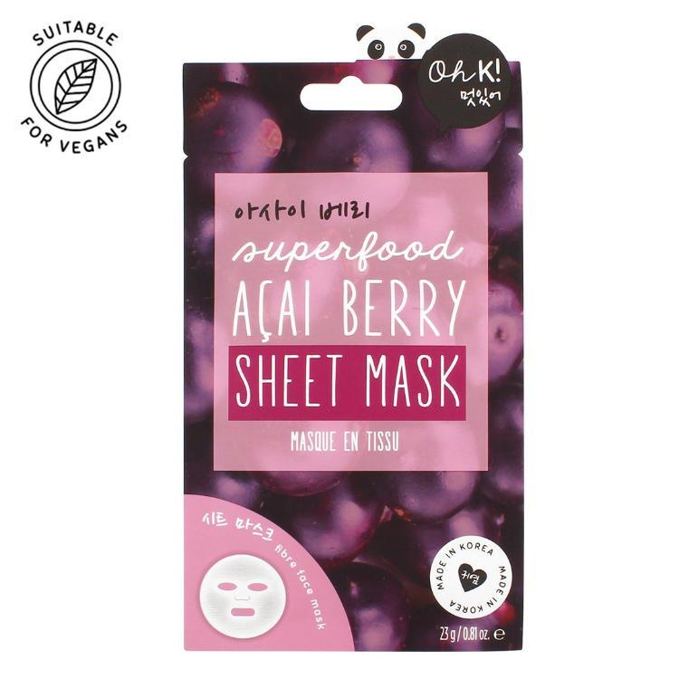 Oh K! Super-food Acai Berry Sheet Mask
