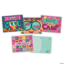 Load image into Gallery viewer, Girls Summer Camp Postcards