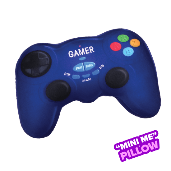 Mini Gamer Scented Microbead Pillow