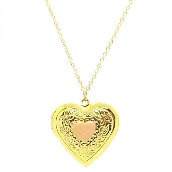 Large Heart Locket