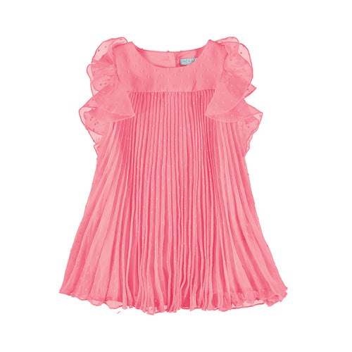 Bubblegum Chiffon Dress