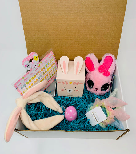 Girly Bunny Easter in a Box