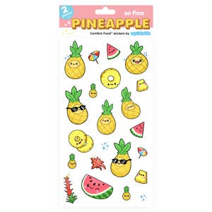 Squishables Pineapple Stickers