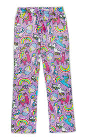 Candy Pink Fuzzy Sleep Pant