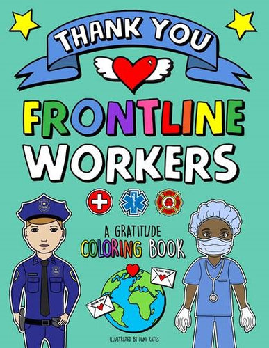 Front Line Coloring Book