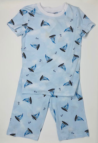 Esme Sailboat S/S Shorts Pajamas