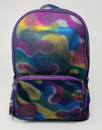 Bari Lynn Backpack - Metallic Cosmos Purple