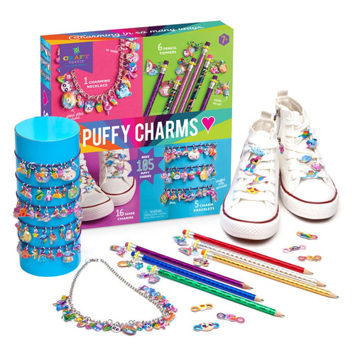 Craftastic Puffy Charm Bracelet Assortment