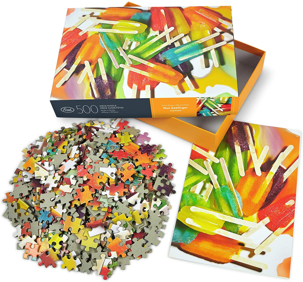 Ice Pops Puzzle -500 Pieces