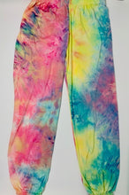 Load image into Gallery viewer, Dori Creations Tie Dye Sweatpant - Pink Sunrise