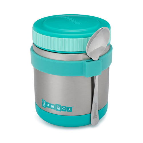 Yumbox Zuppa with Spoon - Caicos Aqua