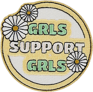 Girls Support Girls Patch