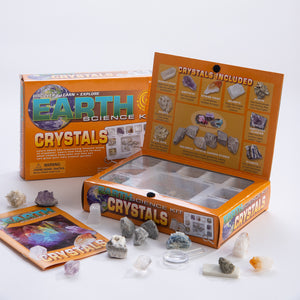 Earth Science Kit Crystals