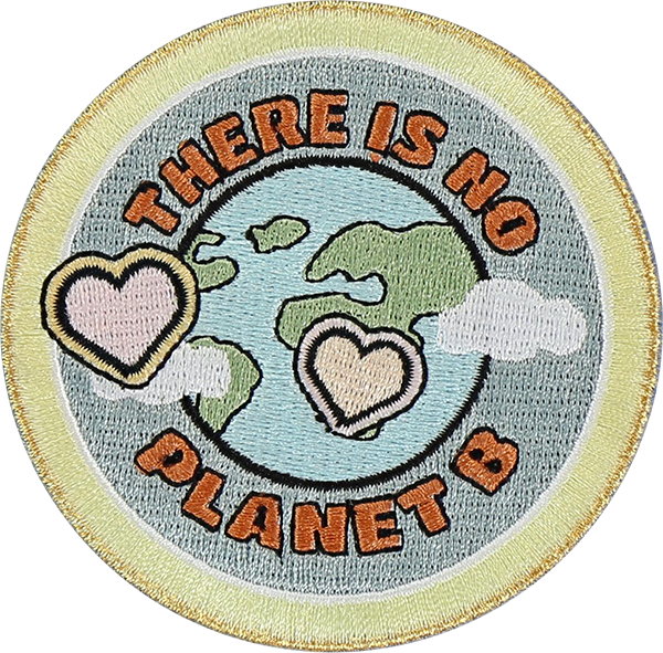 There is No Planet B Patch